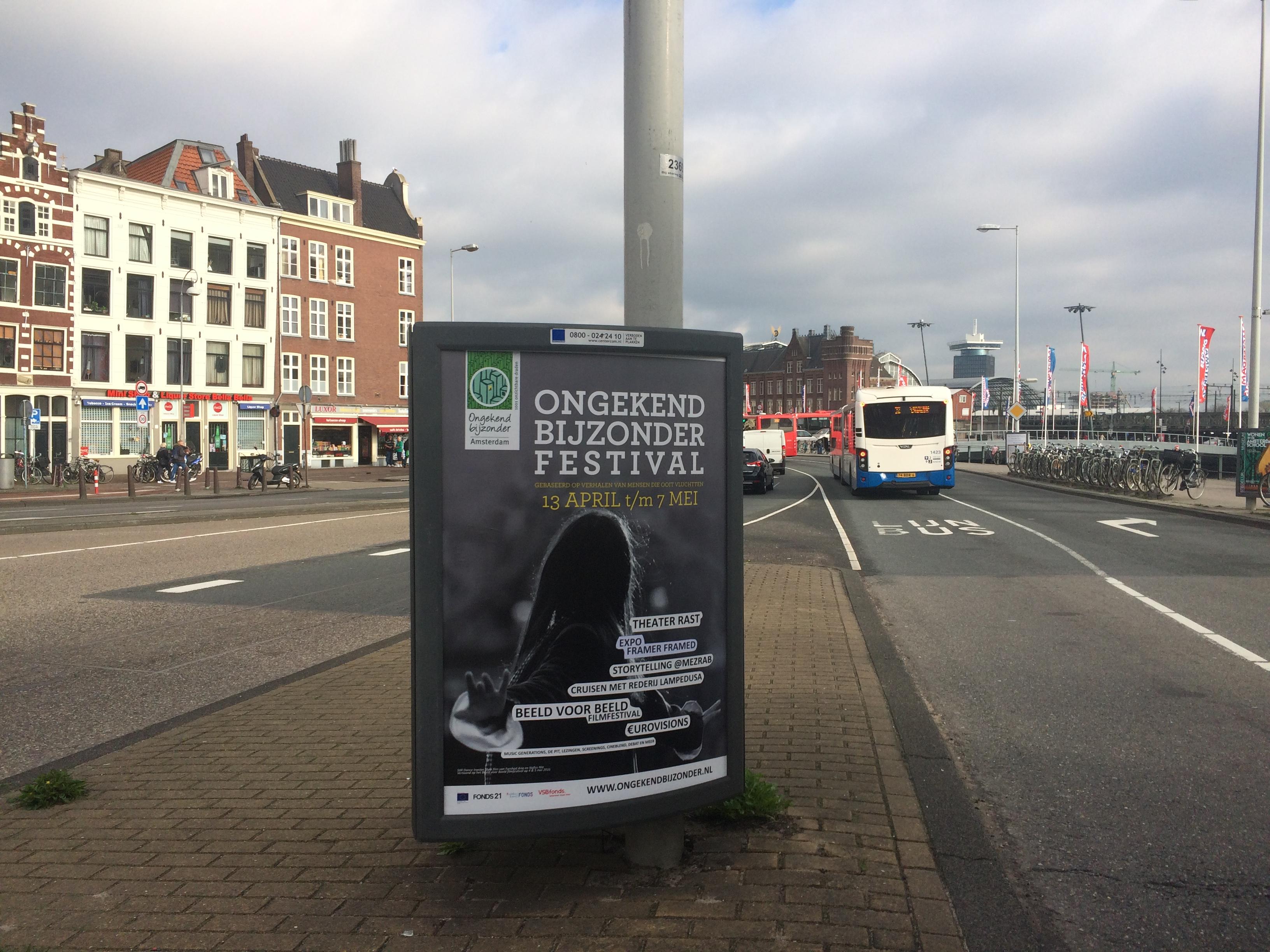 Poster Ongekend Bijzonder Amsterdam